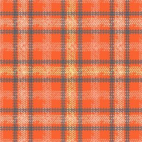 Bike Tread Plaid (tomato)