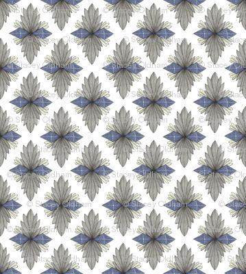 decorative diamond shape pattern