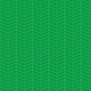Emerald Herringbone Chevron