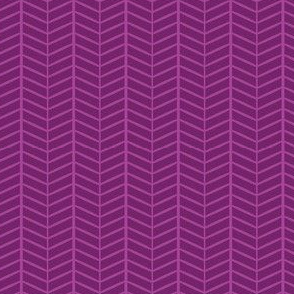 Grape Herringbone Chevron
