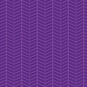 Purple Herringbone Chevron