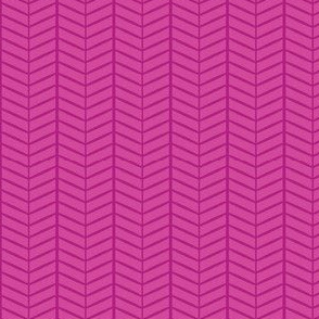 Raspberry Herringbone Chevron
