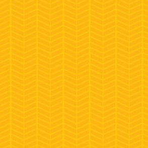 Sunflower Herringbone Chevron
