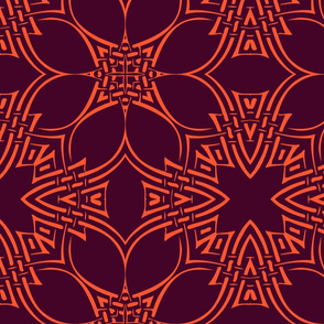 Woven Star Calligraphic