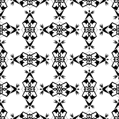 Black and White PACLA Weave fabric by alyhillary on Spoonflower - custom fabric