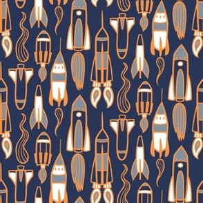 Rocket Fuel - blue