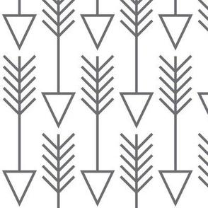 arrows on white