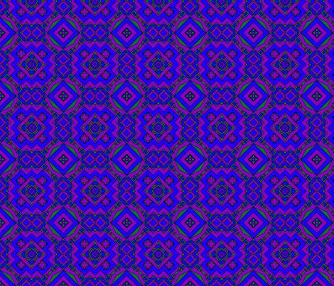 Fractally Royal fabric by alyhillary on Spoonflower - custom fabric