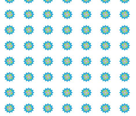 star_flower2 fabric by gethugged on Spoonflower - custom fabric
