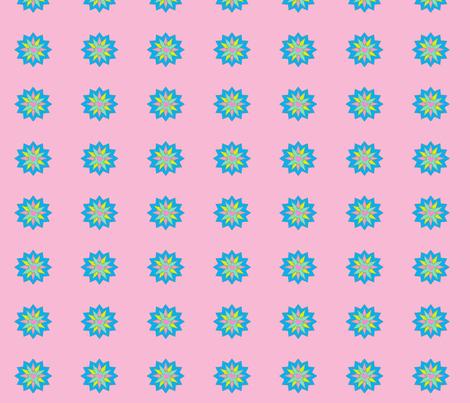 star_flower2-ch fabric by gethugged on Spoonflower - custom fabric