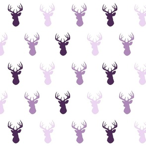 Deer - purple - moonshade