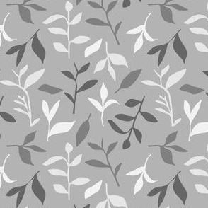 Tea Leaf Scatter (shades of grey)