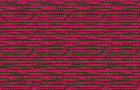 crowded pod stripes in bark + punch fabric by kheckart on Spoonflower - custom fabric