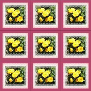 Yellow Crawford Roses