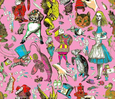 Wonderland 's Not Pretty Multi Pink