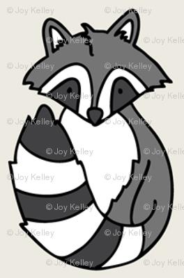 Woodland creatures - Cream background