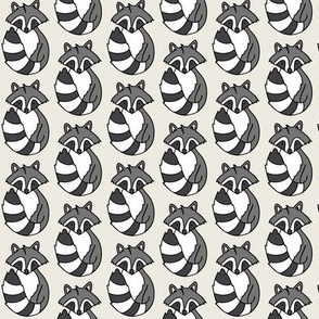 Woodland creatures - Cream background