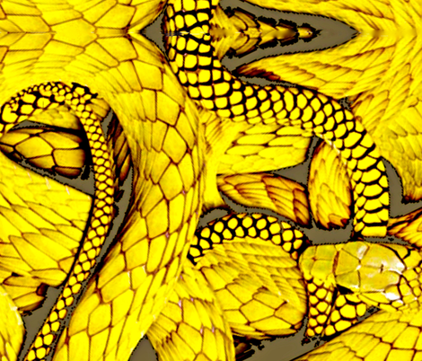 Snakes Alive fabric by whimzwhirled on Spoonflower - custom fabric