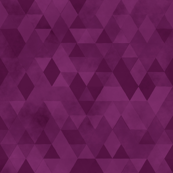 Watercolour Polygonal Triangles - Purple
