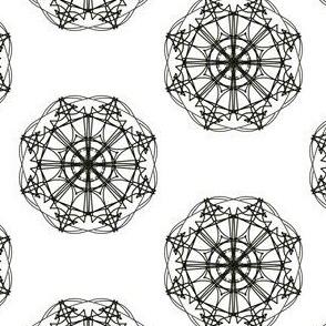 Twirling Oriental Stars
