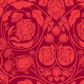 Mystery Blooms - Crimson