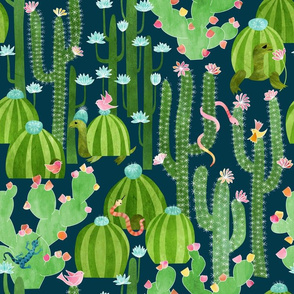 The Cactus Garden of Earthly Delights