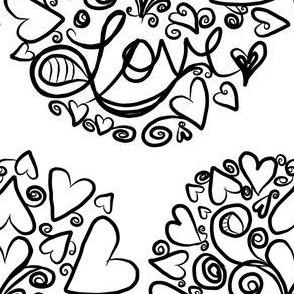 Project 29 | Love  Mandala (large scale)