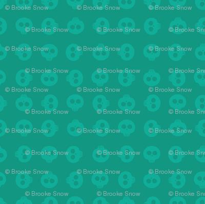 Algae Skull Grid