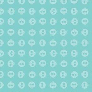 Aqua Skull Grid