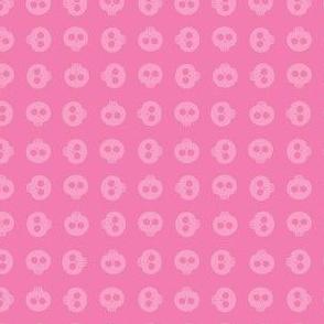 Bubblegum Skull Grid