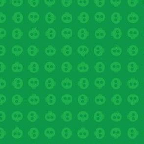 Emerald Skull Grid