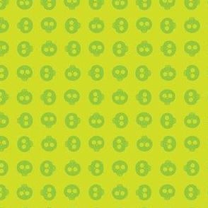 Lime Skull Grid