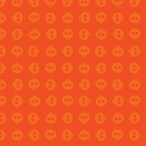 Orange Skull Grid