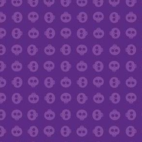 Purple Skull Grid