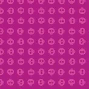 Raspberry Skull Grid