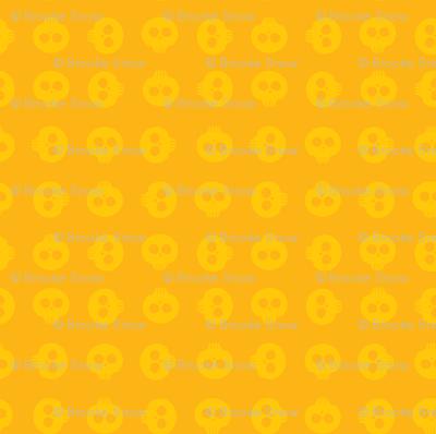 Sunflower Skull Grid