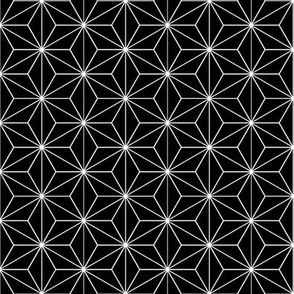 Japanese Pattern (Black stars)