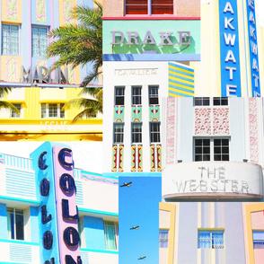 Miami Tea Towel