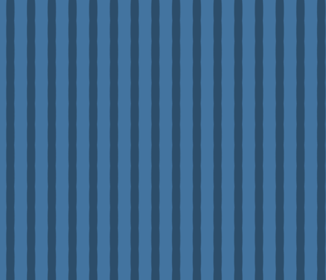 Blue Wiggly Stripe fabric by blue_dog_decorating on Spoonflower - custom fabric