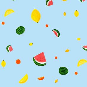 Fruit Salad Summer Sky