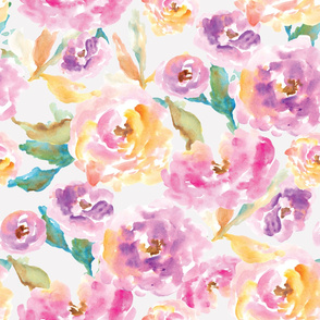 Cute Watercolor Floral