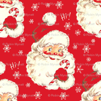Hi Santa Red ~ New  small size ! Christmas