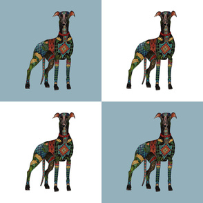 greyhound 18 inch pillow fronts