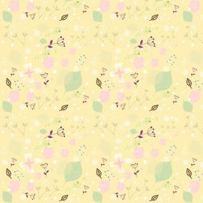Vintage_floral_petals_thyme_spring_yellow_season