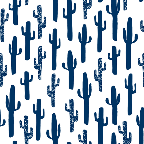 Cactus kids cactus desert southwest cute boys room for Fabric for boys room