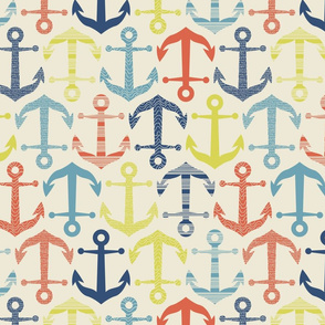 patterned anchors