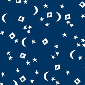 stars // little dreams stars navy blue moon and stars kids room navy blue kids design