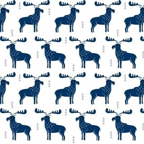 moose // navy blue moose kids room canada nursery baby boy