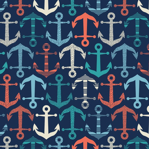 patterned anchors 2