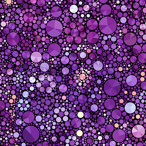 Dreams of Purple - Larger Scale fabric by elramsay on Spoonflower - custom fabric